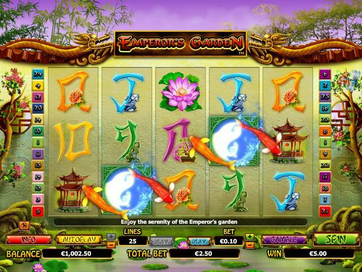 Emperor\'s Garden - NextGen - SlotS77